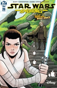 Star Wars Adventures 026 Cover