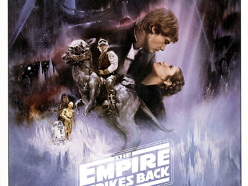 Star Wars Empire Strikes Back V Poster