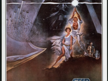 Star Wars New Hope Iv Poster