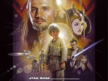 Star Wars Phantom Menace I Poster