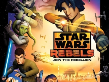 Star Wars Rebels Season One Poster