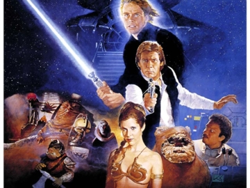 Star Wars Return Jedi Vi Poster