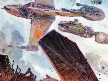 Tie Fighters 004 Cover