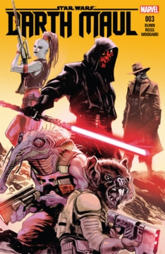 Darth Maul 003 Cover