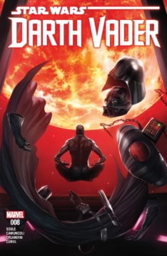 Darth Vader Dark Lord Sith 008 Cover