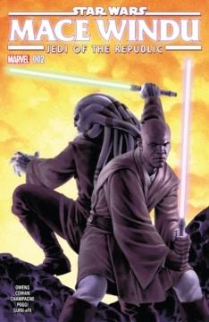 Jedi Of The Republic Mace Windu 002 Cover