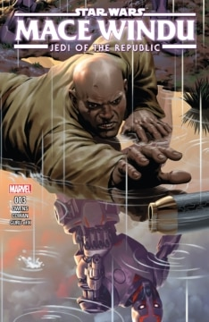 Jedi Of The Republic Mace Windu 003 Cover