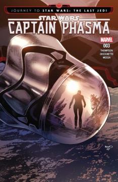 Journey To Star Wars The Last Jedi Captain Phasma 003 Cover