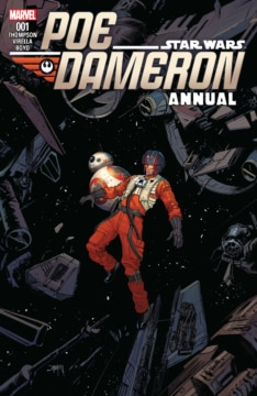 Poe Dameron Annual 001 Cover