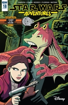 Star Wars Adventures 018 Cover