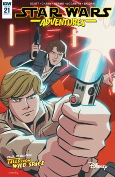 Star Wars Adventures 021 Cover