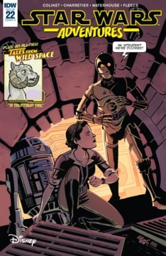 Star Wars Adventures 022 Cover
