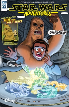 Star Wars Adventures 023 Cover
