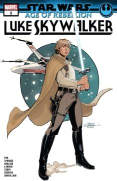 Star Wars Age Of Rebellion Luke Skywalker 001 Cover
