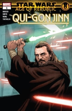 Star Wars Age Of The Republic Qui Gon Jin 001 Cover