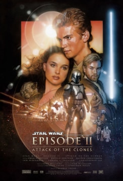 Star Wars Attack Clones Ii Poster