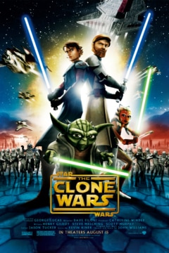 Star Wars The Clone Wars Movie Poster