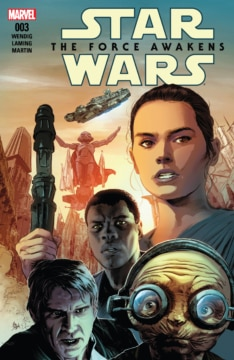 Star Wars The Force Awakens Adaptation 003 Cover