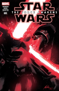Star Wars The Force Awakens Adaptation 005 Cover