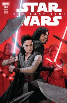 Star Wars The Last Jedi Adaptation 005 Cover
