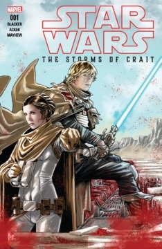 Star Wars The Last Jedi The Storms Of Crait Cover