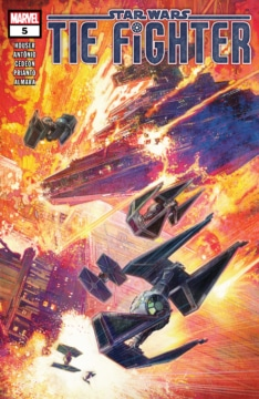 Tie Fighters 005 Cover